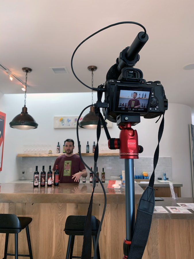 Live Stream Wine Tastings